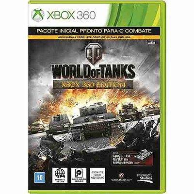 World Of Tanks - Xbox 360 Mídia Física Novo Lacrado