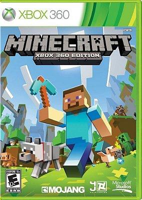 Minecraft Xbox 360 Edition Mídia Física Novo Lacrado