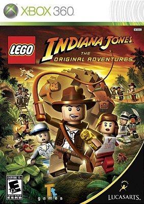 Lego Indiana Jones - Xbox 360 Mídia Física Usado