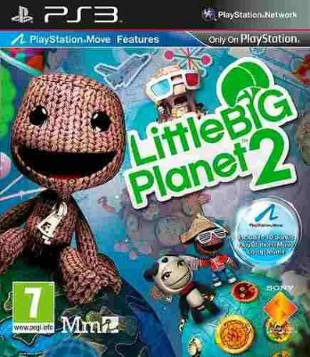 Little Big Planet 2 - Ps3 Mídia Física Novo Lacrado