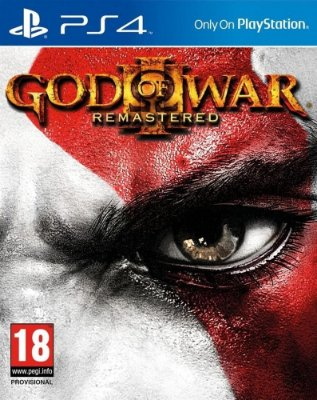 God Of War 3 Remasterizado - Ps4 Mídia Física Novo Lacrado