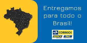 Entregamos para todo o Brasil!