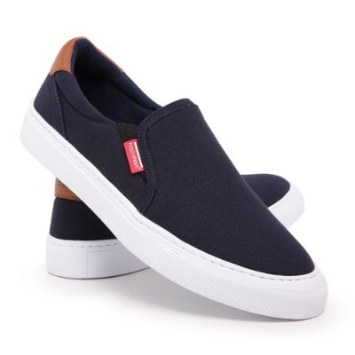 Tênis Masculino Sapatênis Casual Polo Slip On Iate Original