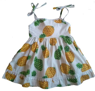 Vestido Verão Abacaxi