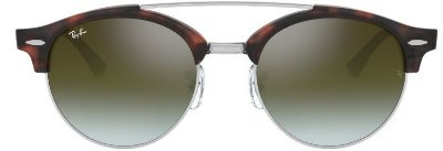 RAY-BAN CLUBROUND DOUBLE BRIDGE TARTARUGA - RB4346