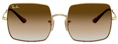 RAY-BAN SQUARE MARROM DEGRADE - RB1971