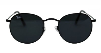 RAY-BAN ROUND PRETO - RB3447