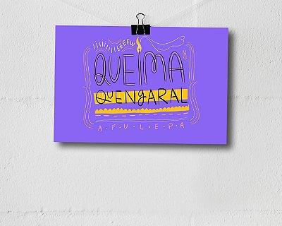 PRINT A4 - Queima Quengaral