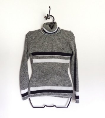 TURTLENECK CINZA - P/M