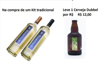 Kit Tradicional Hidromel + Cerveja Dubbel