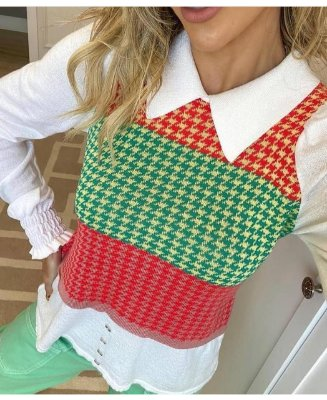 Camisa com colete
