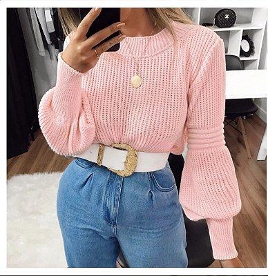Blusa Marcela - Rosa Bebe
