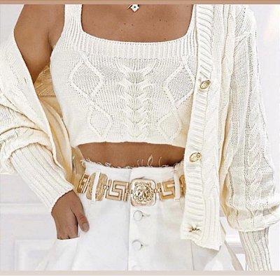 Conjunto Trança Mariane - off white