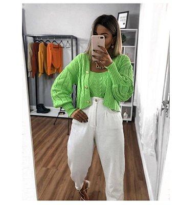 Conjunto Trança Mariane - Verde Neon