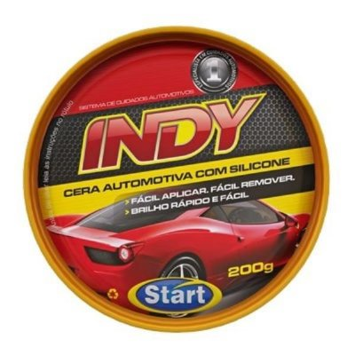 Cera automotiva Indy 200g