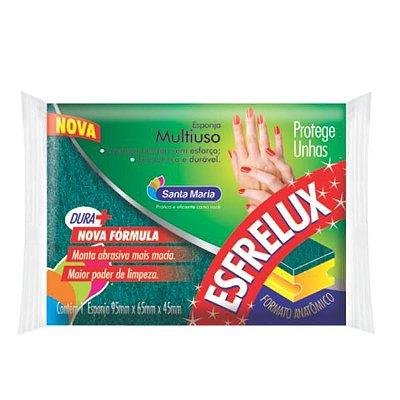 Esponja de limpeza Esfrelux protetor unhas