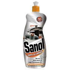 Limpa aluminio Sanol 500ml