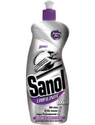Limpa Inox Sanol 500ml