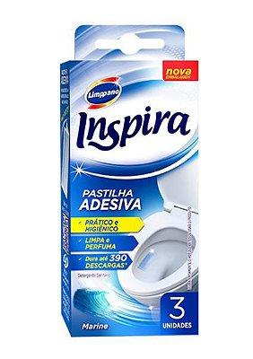 Inspira pastilha adesiva fresh c/3