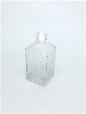Vidro bico de jaca quadrado 220ml cristal (s/válvula)