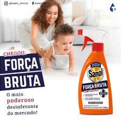 FORCA BRUTA SANOL ORIGINAL COM ALCOOL 330ML