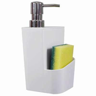 DISPENSER PARA DETERGENTE BRANCO 650 ML