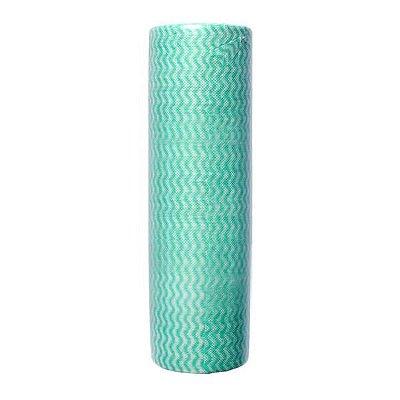 Pano Multiuso (rolo 25 panos de 30cmx20cm picotado) NOBRE Verde