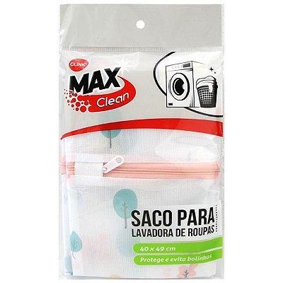Saco para lavar Com Ziper Clink 16x13