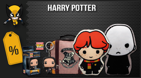 Artgeek Harry Potter - Black Friday - Licenciados