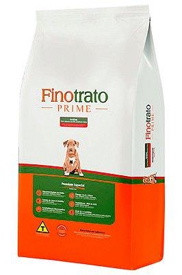 Ração Finotrato Prime Active Premium Especial para Cães Filhotes em Alta Atividade Física - 15Kg