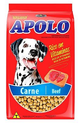Ração Apolo Sabor Carne para Cães Adultos de Todas as Raças - 20Kg