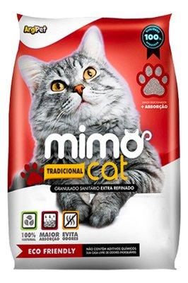 Granulado Sanitário Mimo Cat para Gatos - 4Kg