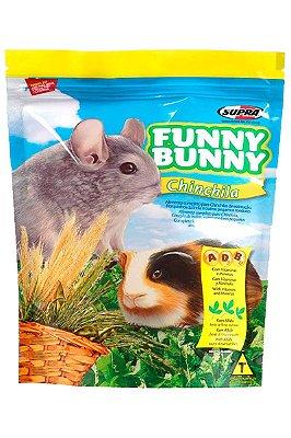 Ração Supra Funny Bunny Chinchilas, Porquinhos-da-Índia e Pequenos Roedores - 700g