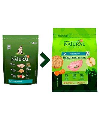 Ração Affinity Guabi Natural Frango e Arroz Integral para Gatos Adultos Castrados - 500g