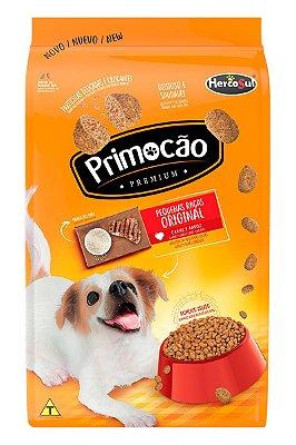 Ração Primocão Original Sabor Carne e Arroz Raças Pequenas para Cães Adultos - 10,1Kg