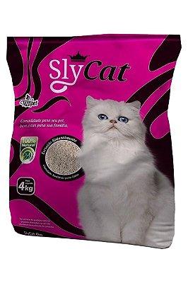 Areia Higiênica Sly Cat para Gatos - 4Kg