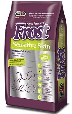 Ração Frost Hipoalergênica Super Premium Natural Fish & Rice para Cães Adultos - 12Kg