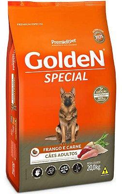 Ração Golden Special para Cães Adultos Frango e Carne - 20Kg