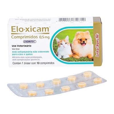 Elo-Xicam 0,5mg Chemitec C/ 10 Comprimidos