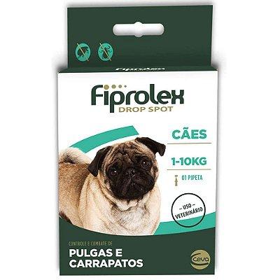 Antipulgas e Carrapatos Fiprolex Drop Spot Ceva para Cães até 10kg