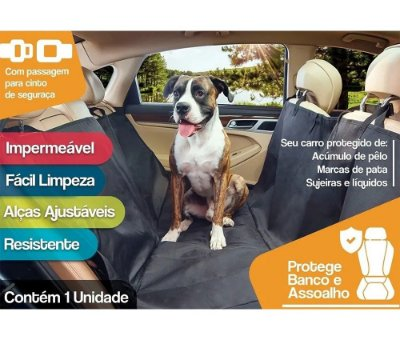 Capa para Banco de Automóvel The Pets Brasil