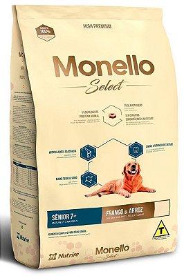 Ração Monello Select Frango & Arroz para Cães Senior 7+ 15kg - Nutrire