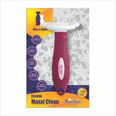 Escova MAXXI CLEAN para Cães e Gatos Tamanho M ou G - BioStar