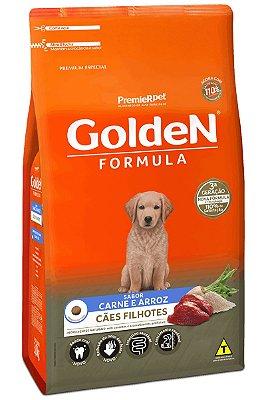 Ração Golden Formula Cães Filhotes Carne e Arroz - 15Kg