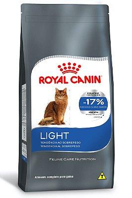 Ração Royal Canin Light para Gatos Adultos com Tendência a Obesidade - 7,5Kg