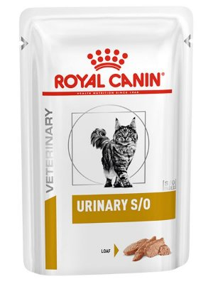 Ração Úmida Royal Canin Sachê Feline Veterinary Urinary S/O para Gatos - 85g