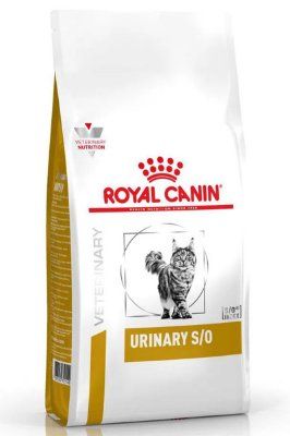 Ração Royal Canin Feline Veterinary Urinary S/O para Gatos - 500g ou 1,5Kg