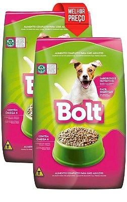 COMBO 14kg de Ração Bolt para Cães Adultos (2x 7kg)