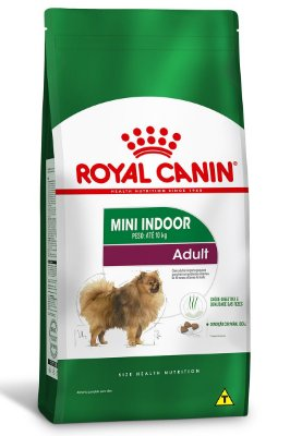 Ração Royal Canin Mini Indoor Adult para Cães Adultos de Raças Pequenas - 1Kg ou 2,5Kg