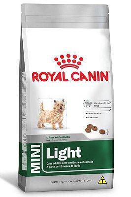 Ração Royal Canin Mini Light para Cães Adultos de Raças Pequenas com Tendência a Obesidade - 1Kg ou 2,5Kg